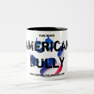 Cup (cup) of American Bully Two-Tone Coffee Mug