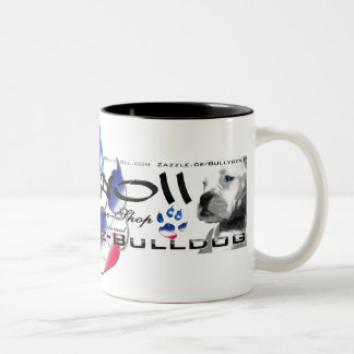 Cup (cup) of Bullydoll & Cooperative Bulldog Coffee Mugs