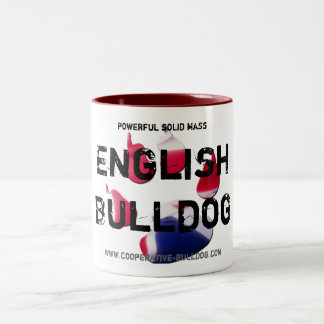 Cup (cup) of English Bulldog