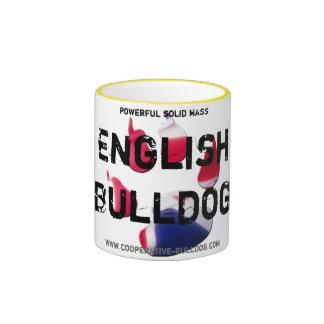 Cup (cup) of English Bulldog Coffee Mug