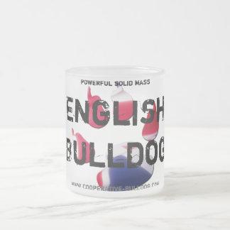 Cup (cup) of English Bulldog Mugs