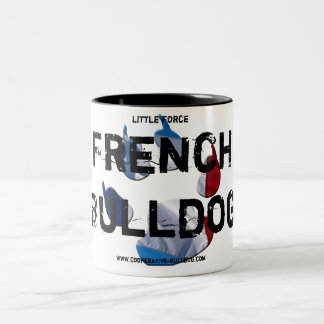 Cup (cup) of French Bulldog Two-Tone Coffee Mug