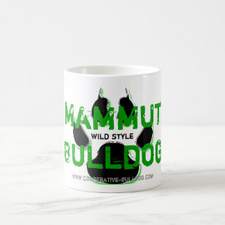 Cup (cup) of giant Bulldog 11 Oz Magic Heat Color-Changing Coffee Mug