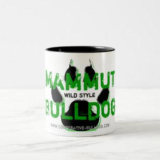Cup (cup) of giant Bulldog Mugs