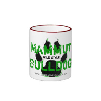 Cup (cup) of giant Bulldog Coffee Mugs