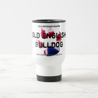 Cup (cup) of old English Bulldog