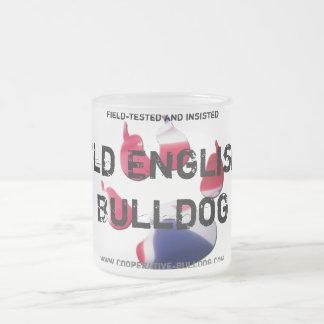 Cup (cup) of old English Bulldog Coffee Mugs
