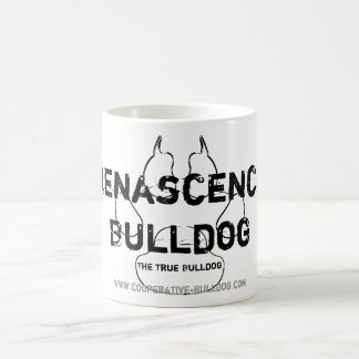 Cup (cup) of Renascence Bulldog Classic White Coffee Mug