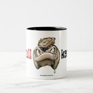 Cup (cup) of talking bulletins kennels Two-Tone coffee mug