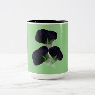 Cup, cup, tasse, flake Two-Tone coffee mug