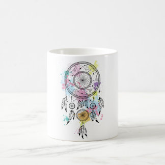 Cup dreamcatcher classic white coffee mug