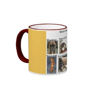 Cup examination ringer coffee mug