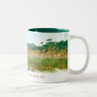 Cup for a long walk. Two-Tone coffee mug