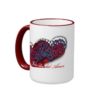 cup for the day of the love ringer coffee mug