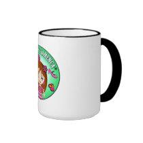 Cup for Very Flamencas of I am Flamenco Muuy Ringer Coffee Mug