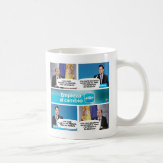 Cup for voters of the PARTIDO POPULAR and PSOE