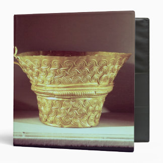 Cup found in a tholos tomb at Peristeria 3 Ring Binder