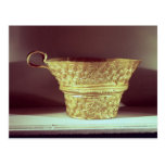 Cup found in a tholos tomb at Peristeria Postcard
