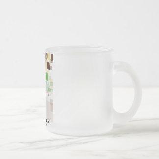 "Cup Frozen Crystal ""Pixels """