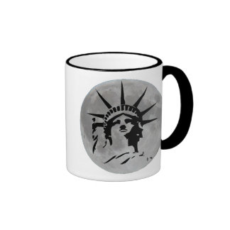 Cup Full Moon - Statue of the Freedom - I have Mugs
