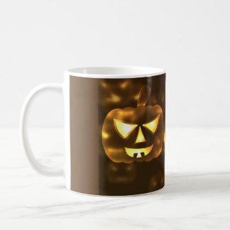 Cup Halloween pumpkins