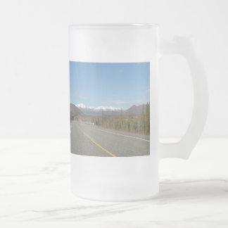 Cup highway in Alaska
