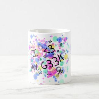 Cup I love my geek Classic White Coffee Mug