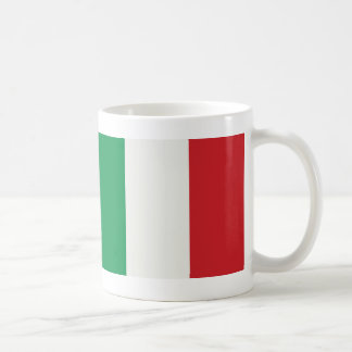 Cup Italy flag