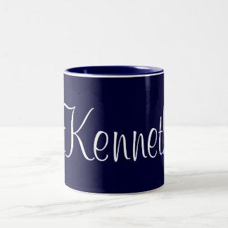 Cup, jar with name, Kenneth Coffee Mug