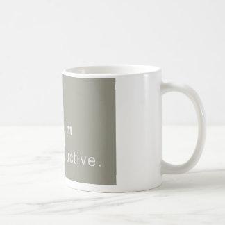 Cup Keep Calm, Stay Productive Classic White Coffee Mug