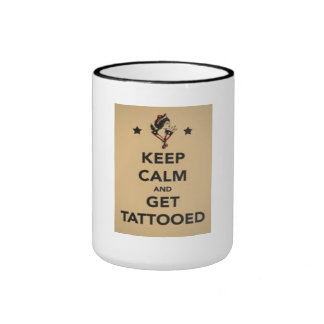 Cup logo ringer coffee mug