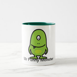 Cup Mr Funny Monster Coffee Mugs