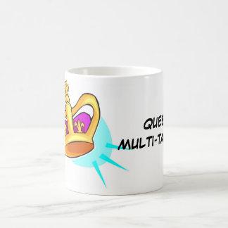 Cup-Mug Queen Muli-Tasker Classic White Coffee Mug