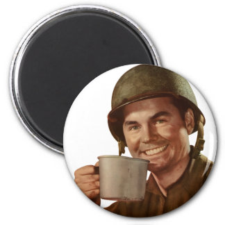 Cup O' Joe 2 Inch Round Magnet