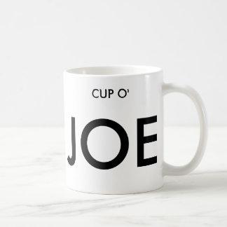 CUP O', JOE COFFEE MUG