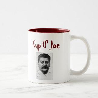 Cup O' Joe Two-Tone Coffee Mug