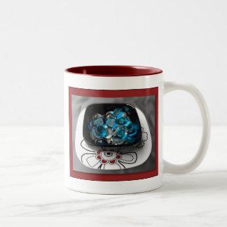 Cup o' Rocks in Red Coffee Mugs