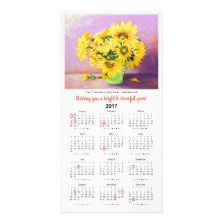 Cup O' Sunshine 2017 Calendar Card by Sandy Farley
