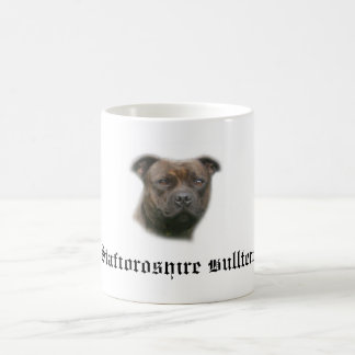 Cup of 2, Staffordshire bull terrier