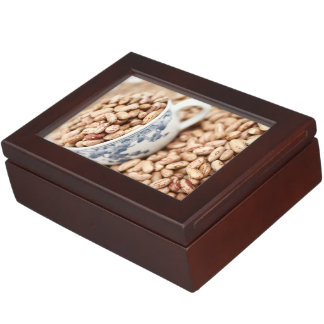 Cup of beans memory box
