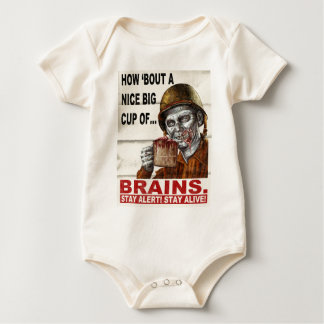 Cup of Brains Baby Bodysuit
