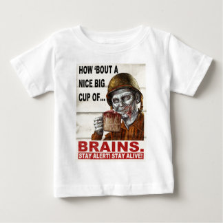 Cup of Brains Baby T-Shirt