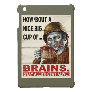 Cup of Brains iPad Mini Cover