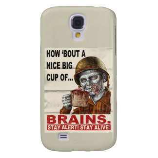Cup of Brains Samsung Galaxy S4 Covers