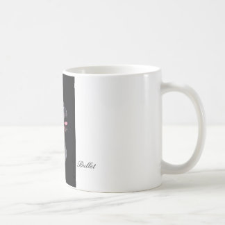 """Cup of """"Bullet """" Classic White Coffee Mug"""