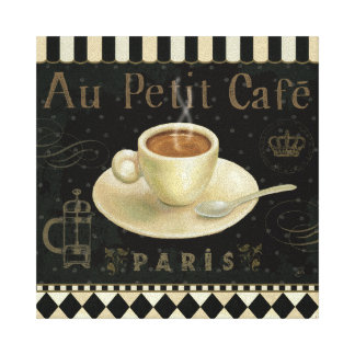 Cup of Cappuccino Canvas Print
