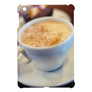 Cup of cappuccino cover for the iPad mini