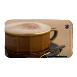 Cup of cappuccino with cocoa powder iPhone 3 cover