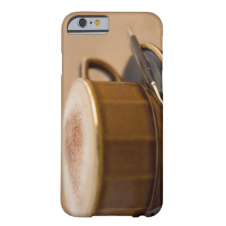 Cup of cappuccino with cocoa powder barely there iPhone 6 case