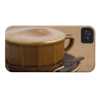 Cup of cappuccino with cocoa powder iPhone 4 covers